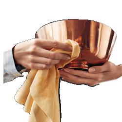 پاک کننده ظروف مسی